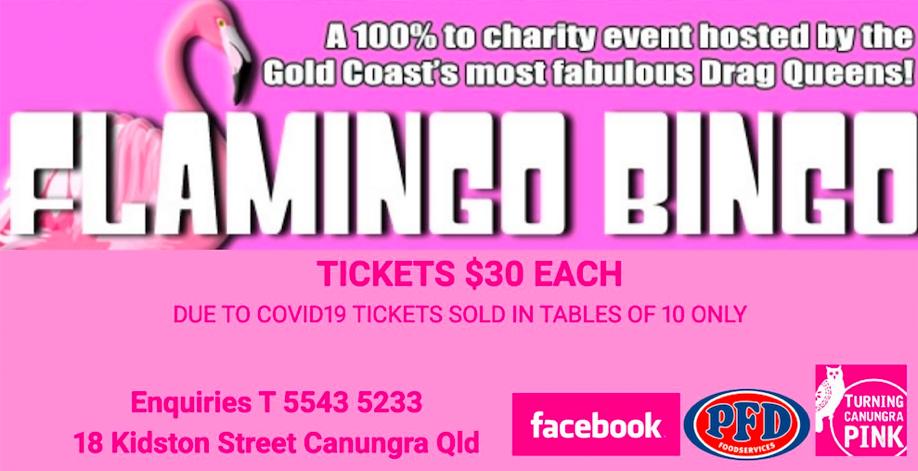 Canungra Hotel Flamingo Bingo