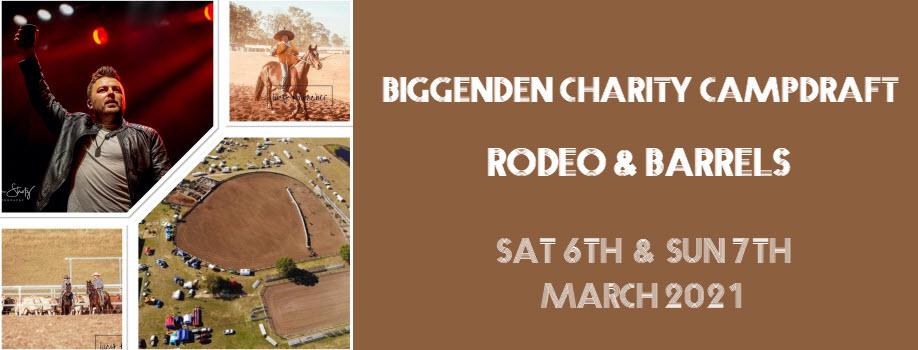 Biggenden Charity Campdraft, Rodeo & Barrels