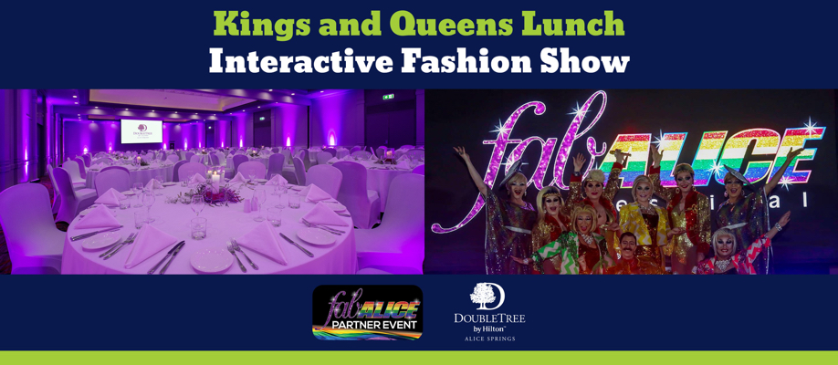 fabALICE Partner Event at DoubleTree: Kings and Queens Lunch and Interactive Fashion Show