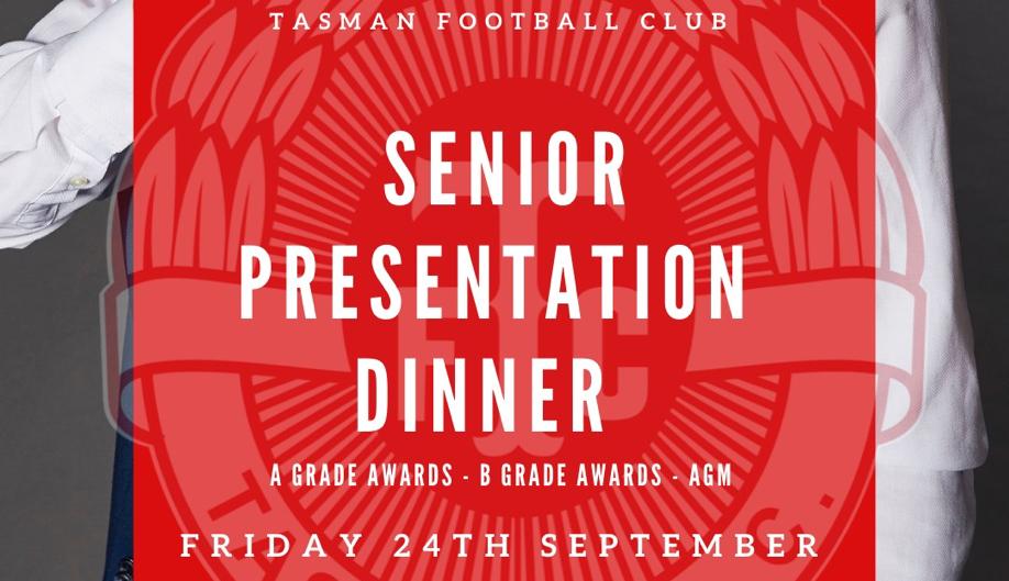 AGM & Senior Presentation Night