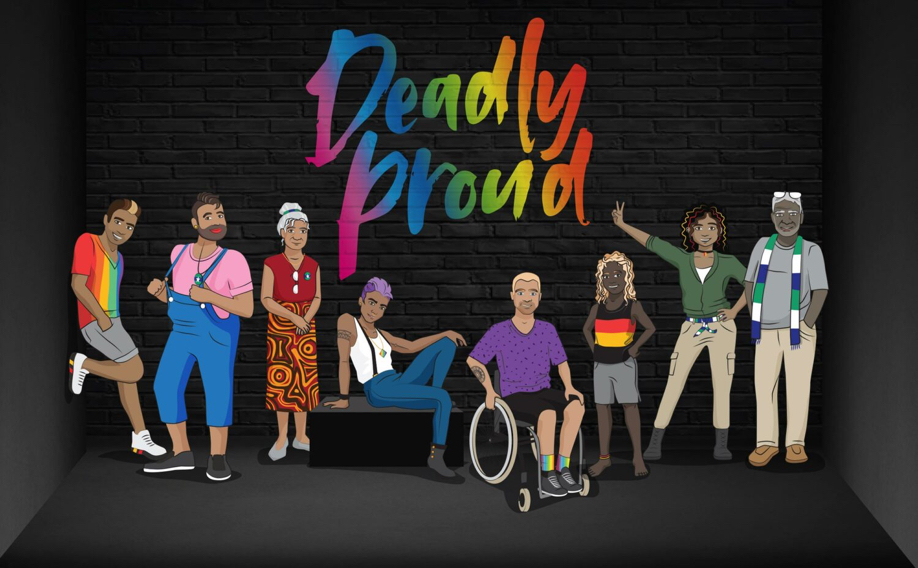 Black Rainbow Fundraiser Party