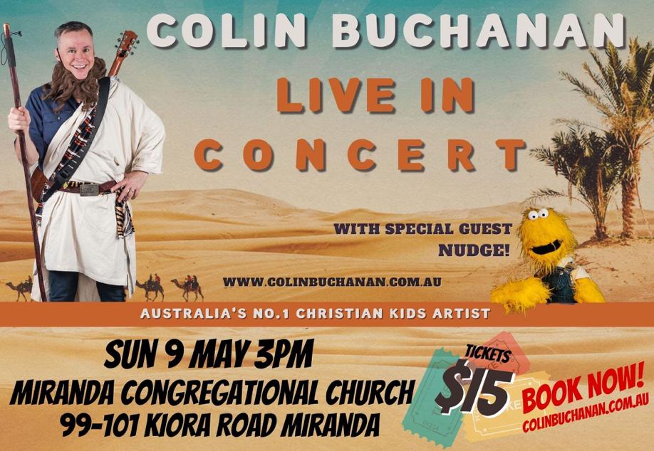 Colin Buchanan – Old Testament Singalong Tour (Sutherland Shire)