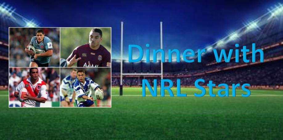 Dinner with NRL Stars