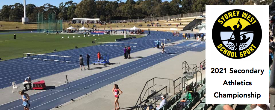 Sydney West School Sport Association 2021 Secondary Athletics Championship | TUES 20 JULY