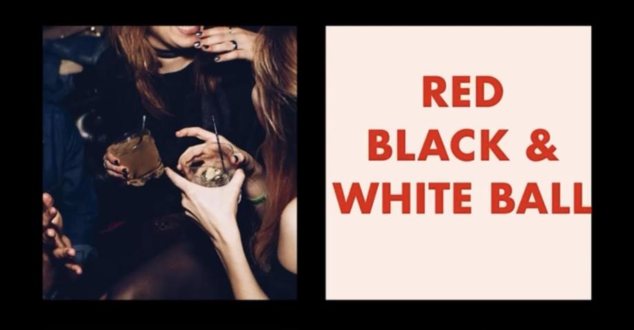 2021 Red, Black & White Ball