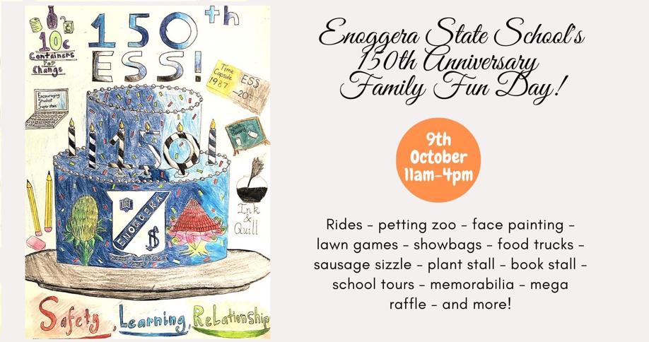 Enoggera State School's 150th Anniversary Family Fun Day