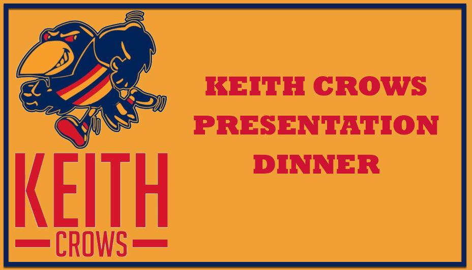 2021 Keith Crows Presentation Dinner