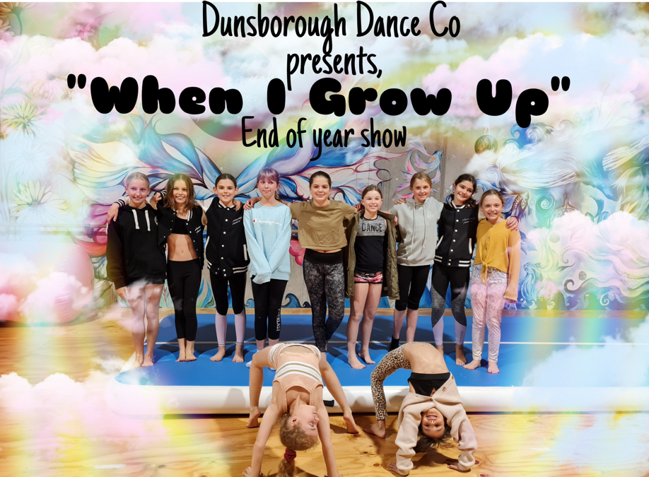When I Grow Up - End of Year Show