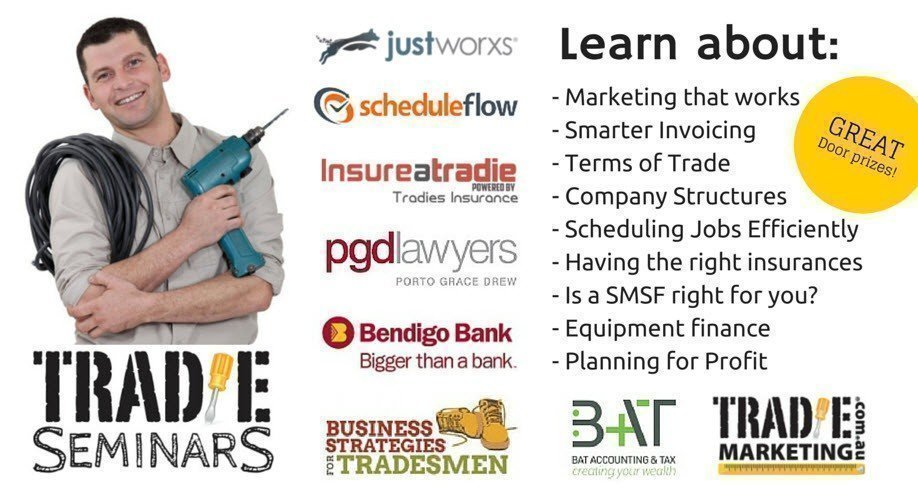 Tradie's Business Growth Seminar