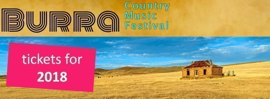 BURRA COUNTRY MUSIC FESTIVAL 2018