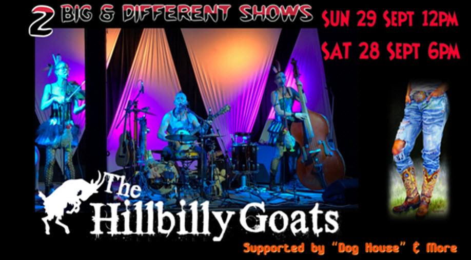 Hoe-Down with The Hillbilly Goats