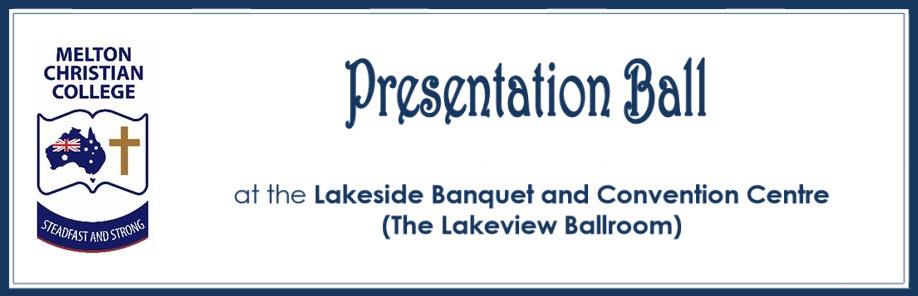 Melton Christian College - Presentation Ball