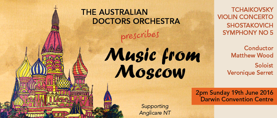 The Australian Doctors Orchestra presents Music from Moscow
