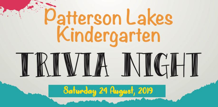 Patterson Lakes Kindergarten Trivia Night 2019