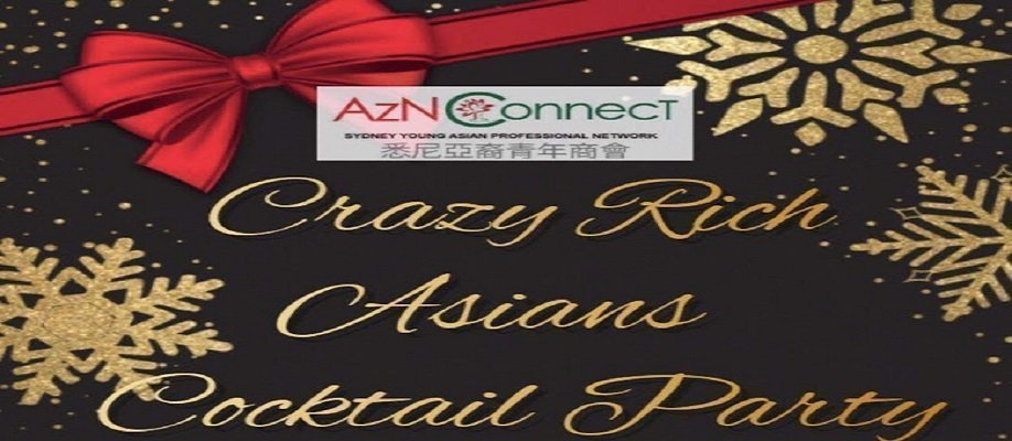 AzNConnecT's Crazy Rich Asians Christmas Party