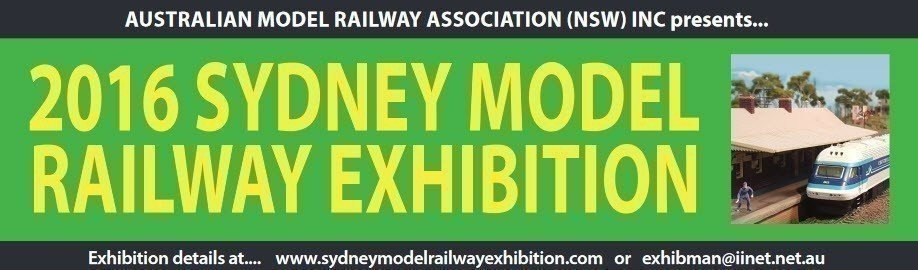 2016 Sydney Model Railway Exhibition