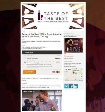 Taste of the Best 2018 – Royal Adelaide Wine Show