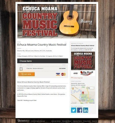 Echuca Moama Country Music Festival