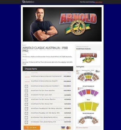 Arnold Classic Australia IFBB Pro