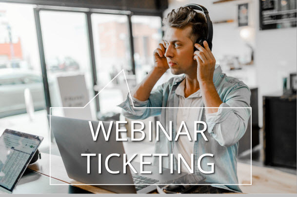 Ticketebo makes selling tickets to webinars and virtual events easy