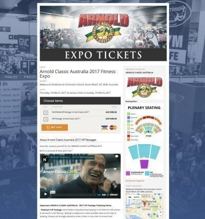 Arnold Classic Australia 2017 Fitness Expo screenshot