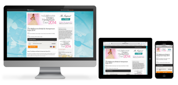 Ticketebo Responsive Event Pages