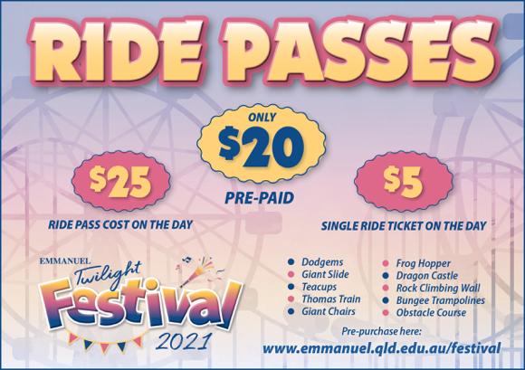 Ride Pass information