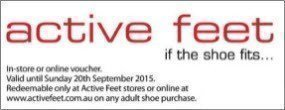 Active Feet Offer