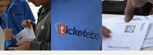 Ticketebo's Barcoded online tickets and entry scanning technology