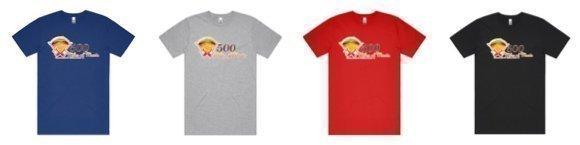 Tshirt Options