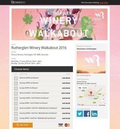 Rutherglen Winery Walkabout 2016 screenshot
